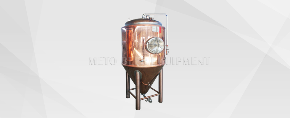 Red copper Beer Fermentation Tank
