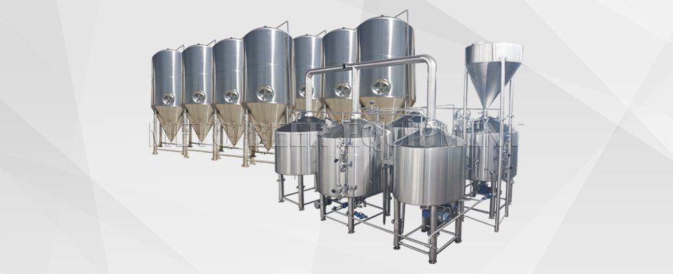 3500L Brewery Equipment