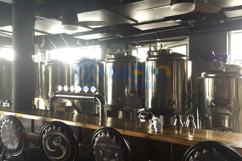Seychelles 300L Beer Brewery Equipment