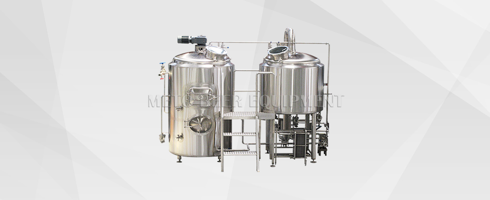 2 Vessels Combined Brewhouse