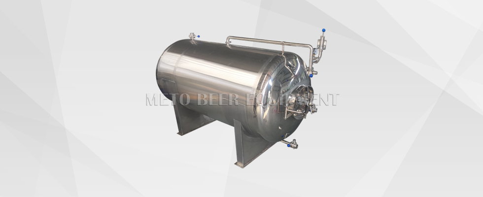 Horizontal Bright Beer Tanks