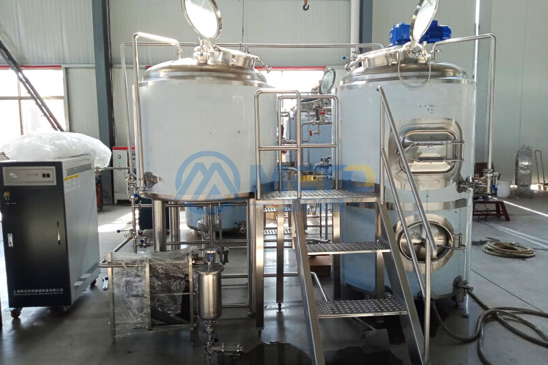 The Philippines 500L beer brewery equipment
